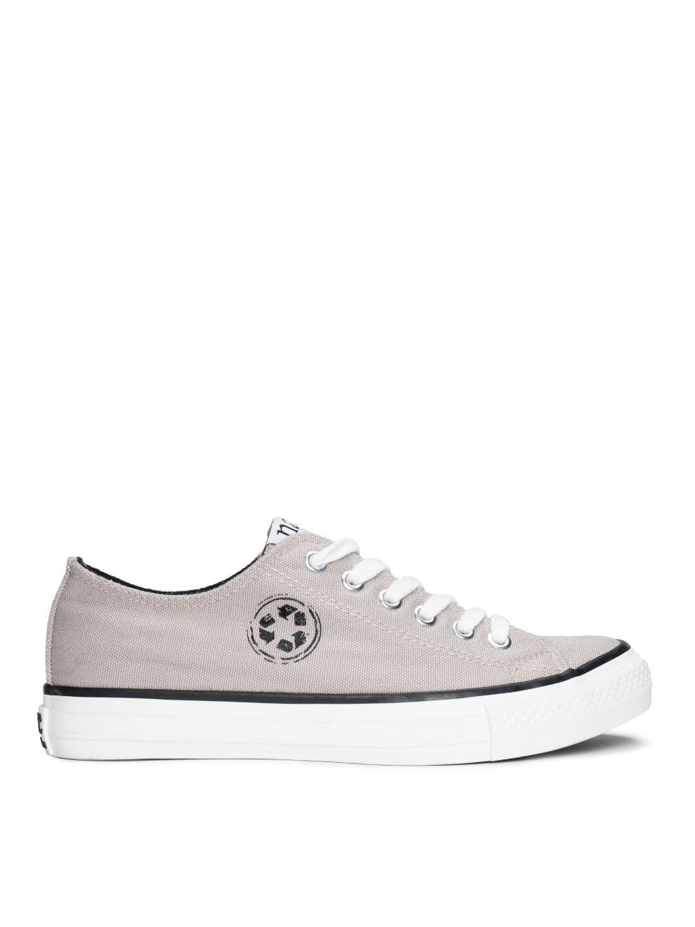 Vegan unisex lace-up sneakers-Re-claim