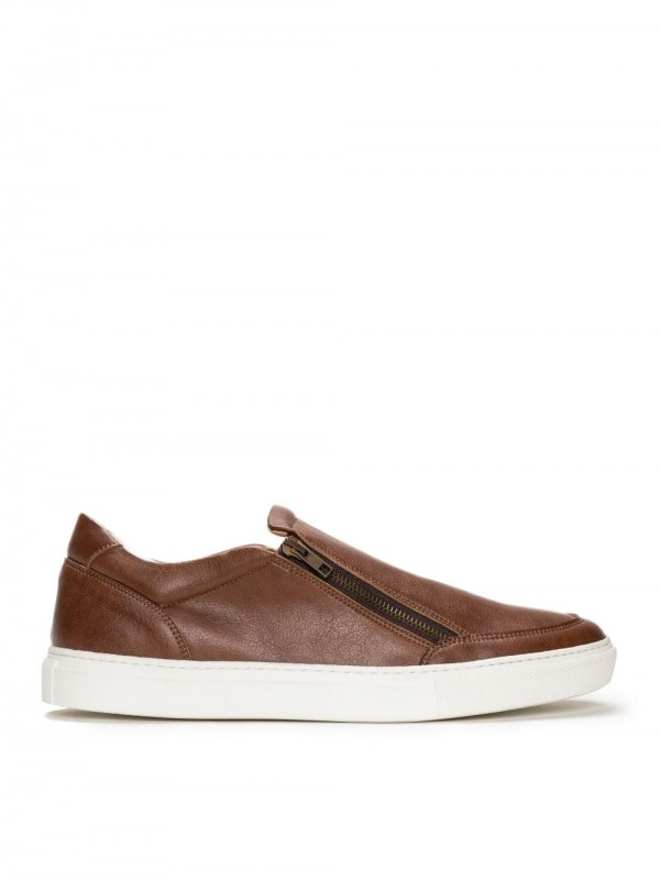 Sabatilles Slip On-Efe brown