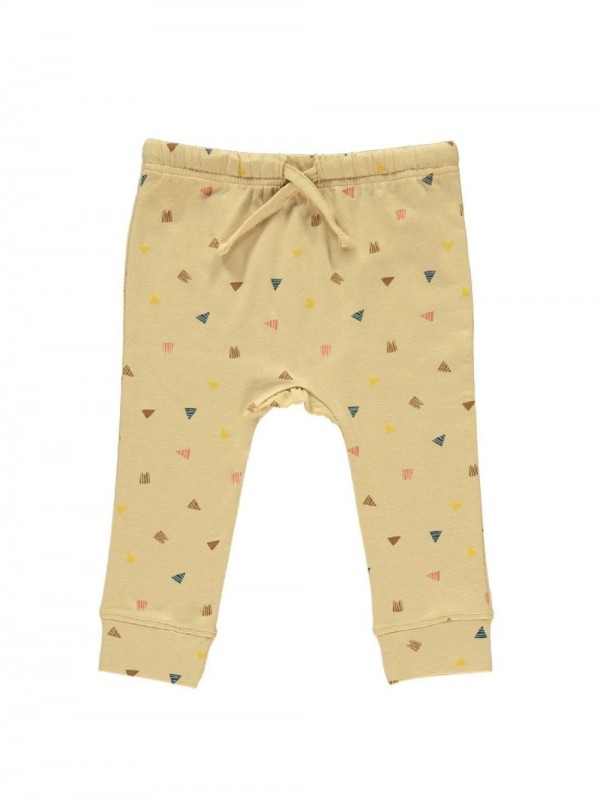 Organic cotton baby pants-Triangles