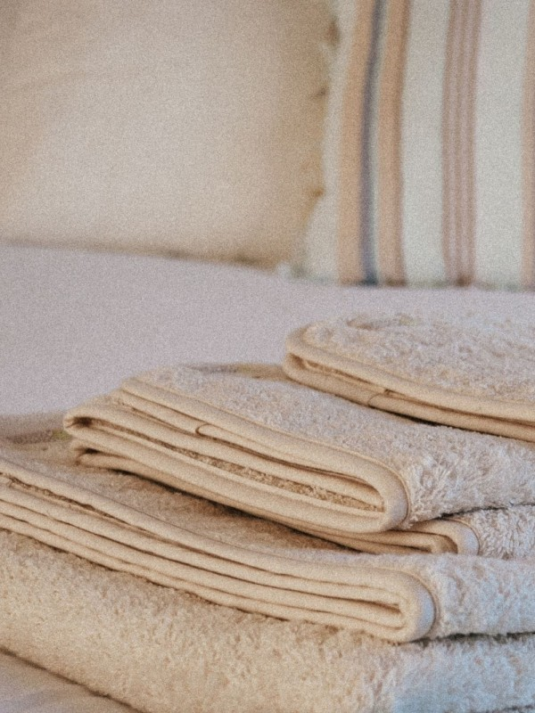 Set of 3 organic cotton towels