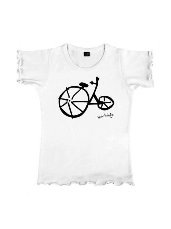 Organic Cotton T-Shirt-In the Clouds White