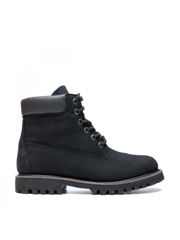 Vegan closed boot with laces-Etna
