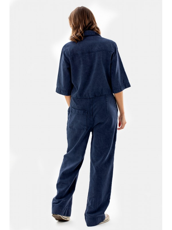 Lyocell Dungarees-Navy 4180 CO2