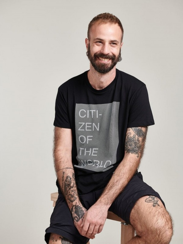 Organic Cotton T-shirts- Citizen of The World