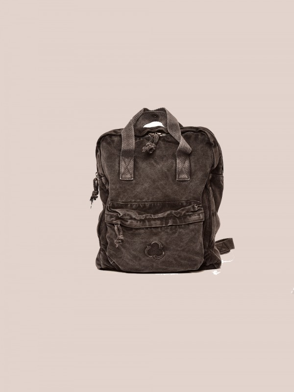 Organic cotton backpack GOTS local-Berlin