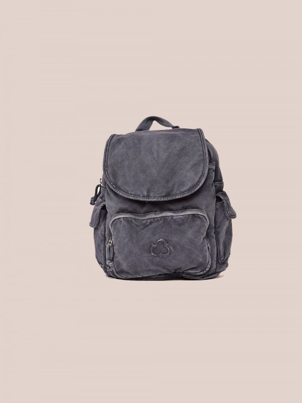 Organic cotton backpack GOTS local-California