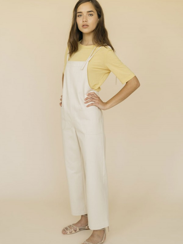 Organic Cotton Straight Jumpsuit-Louise