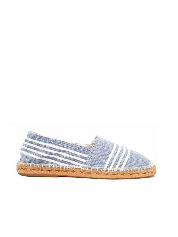 Sustainable espadrille locally produced