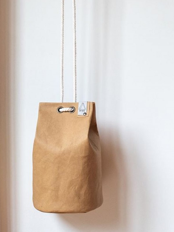 Bolso sostenible hecho de papel - LITTLE TUBE
