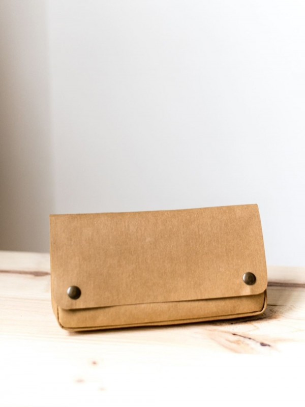 Recycled sustainable paper vegan fanny pack-arena