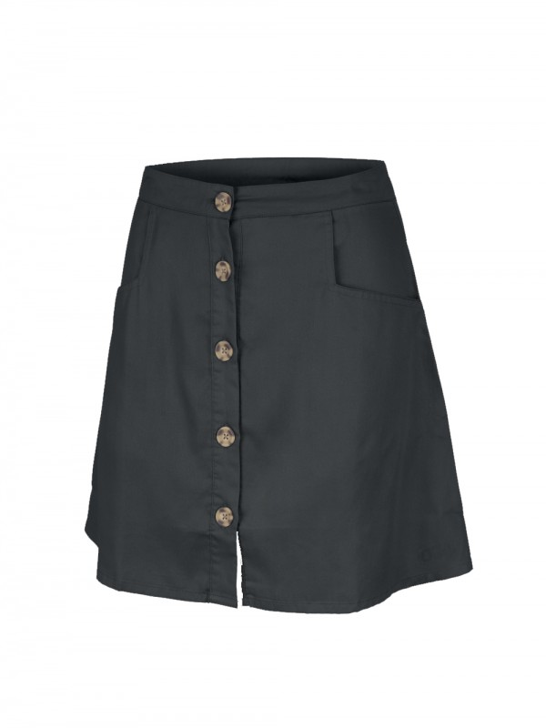 Skirt with buttons by Lyocell Tencel-Nuvo