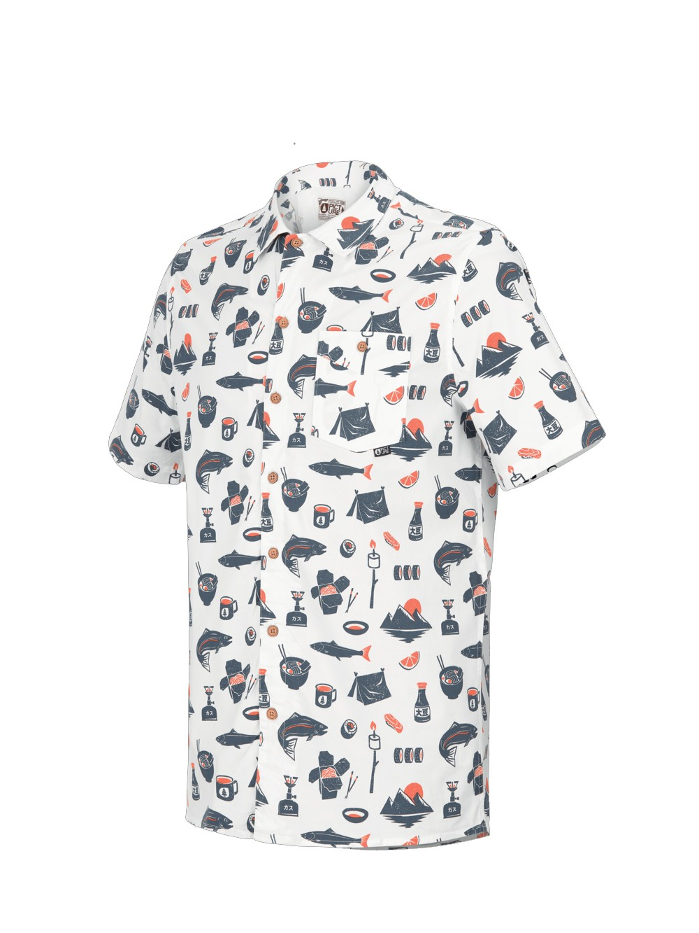 Organic cotton printed shirt