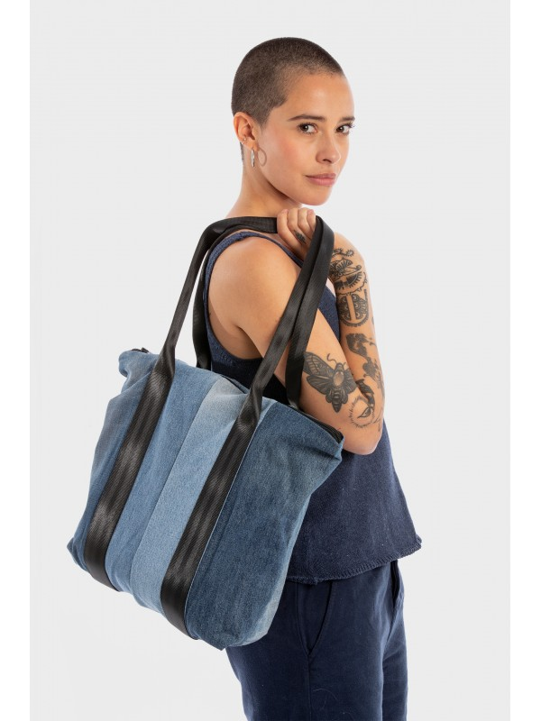 Bolso Denim Reciclado-Tote